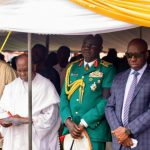 Yakubu Gowon Slumps During David Ejoor's Burial Ceremony In Delta State 28