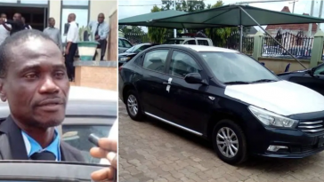 Man Receives Car Gift From Govt For Returning N53m Mistakenly Paid Into His Account As Salary 5