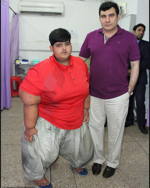 World's Fattest Child Who Is 10 Years Old Set To Undergo Weight Loss Surgery [Photos] 3