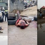Thief Burnt To Death After His Charm Failed While Stealing From Church In Lagos [Photos] 28