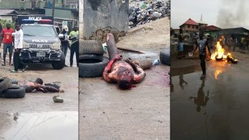 Thief Burnt To Death After His Charm Failed While Stealing From Church In Lagos [Photos] 5