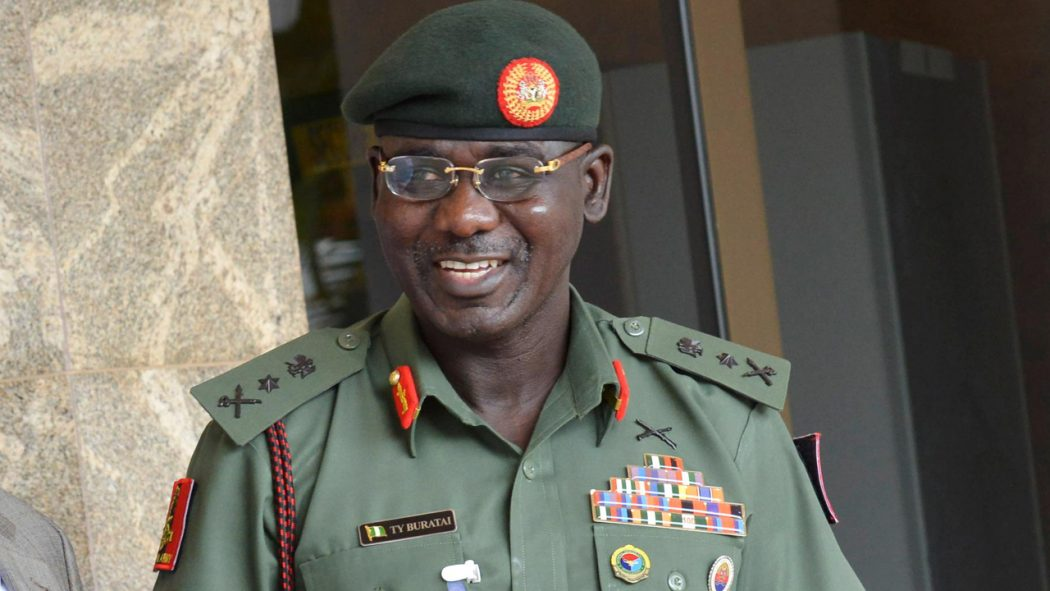 """Your Protests Is Fruitless, The Land Belongs To Military"" - Buratai Reacts To Protest By Abuja Residents 1"