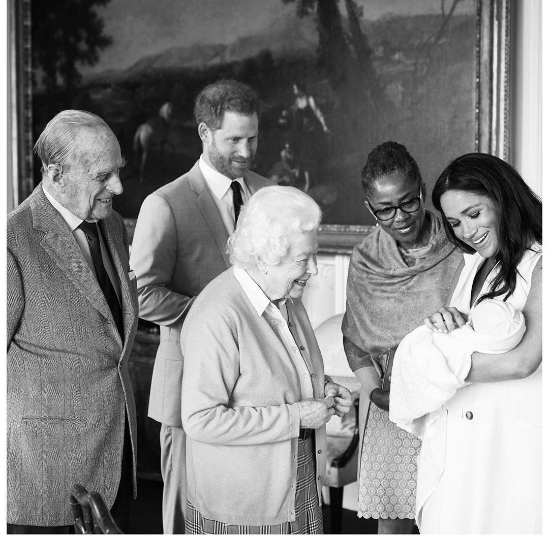 Baby Sussex named Archie Harrison Mountbatten Windsor 1