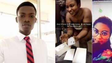 Nigerian Man Uses House Rent Money To Buy iPhone For His Girlfriend After Being Threatened 1
