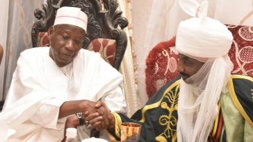 Governor Ganduje Moves Against Emir Sanusi, Breaks Kano Emirate In Five, Signs Bill Into Law 10