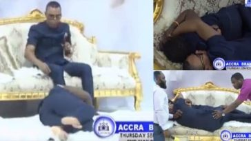 Popular Pastor Sleeps With Woman Seeking For Husband During Church Service [Video] 7