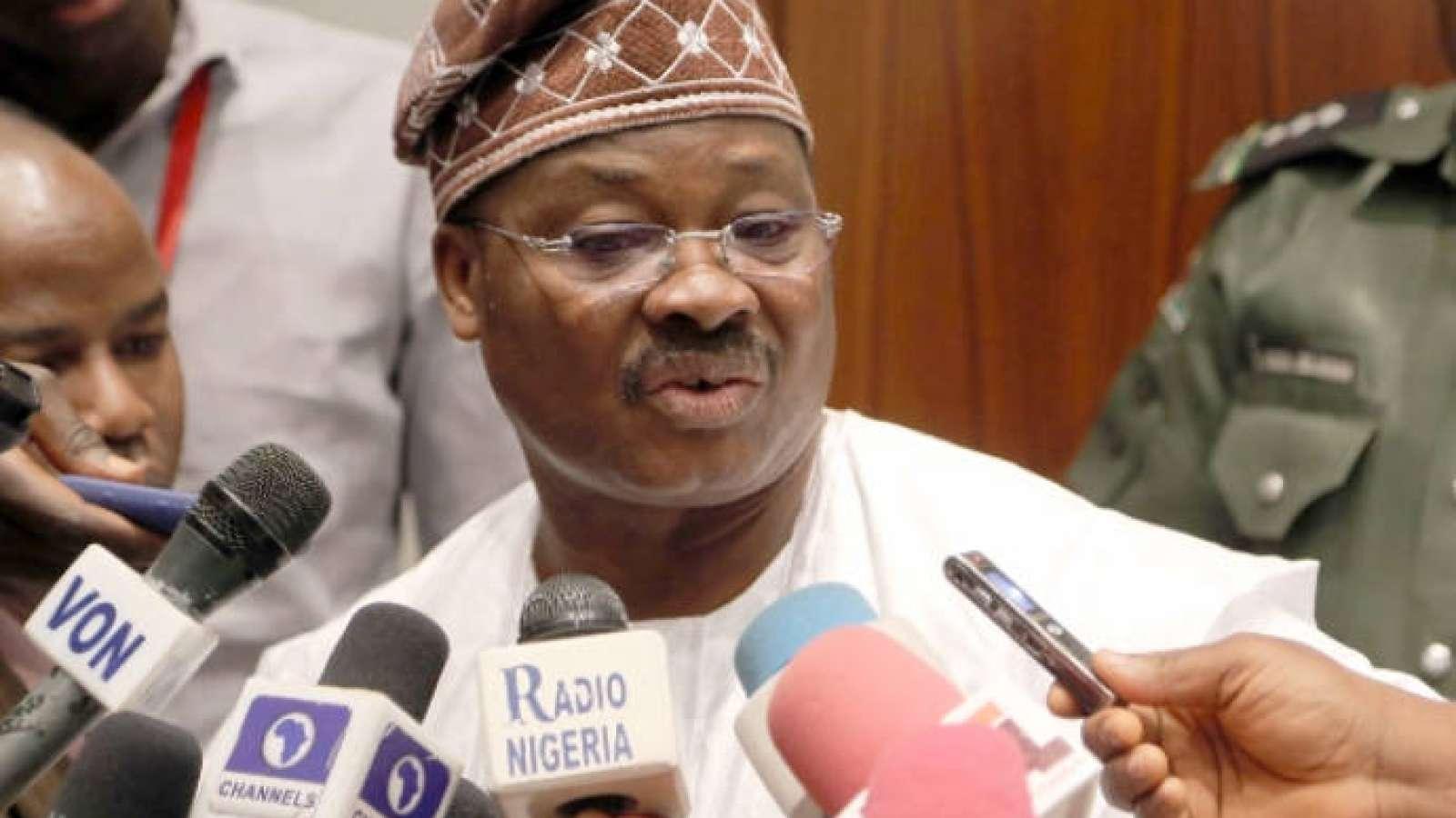 """If We Have Stolen, They Should Arrest Us"" - Governor Ajimobi Speaks On Probe After Tenure 1"