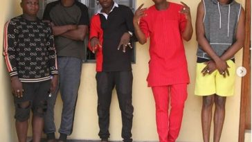 EFCC Parades Naira Marley, Zlatan Ibile And Other Suspected Yahoo Boys [Photos] 2