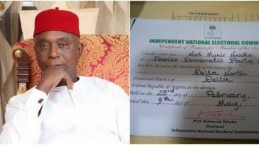 Regina Daniels Alleged Husband, Ned Nwoko Receives Certificate Of Return As Senator [Photos] 1
