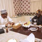 Photos Of Bola Tinubu Breaking Fast With President Buhari At Aso Rock 27