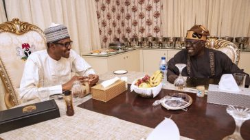 Photos Of Bola Tinubu Breaking Fast With President Buhari At Aso Rock 5