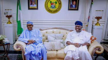 """""""Every Politician Learns Every Day, I'm Wiser Now"""" - Ambode Says As He Visits Buhari In Abuja 5"""
