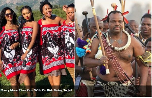 King Mswati Of Swaziland Orders Men In His Country To Marry More Than Two Wives Or Face Jail 1