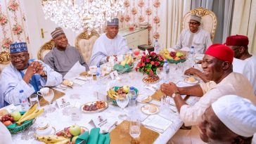 Buhari Breaks Ramadan Fast With Saraki, Dogara, Other NASS Leaders [Photos] 9
