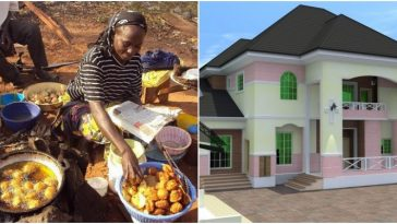 How A Widow Who Sells 'Akara' For A Living Became A Landlord In Lagos - Lady Reveals 8