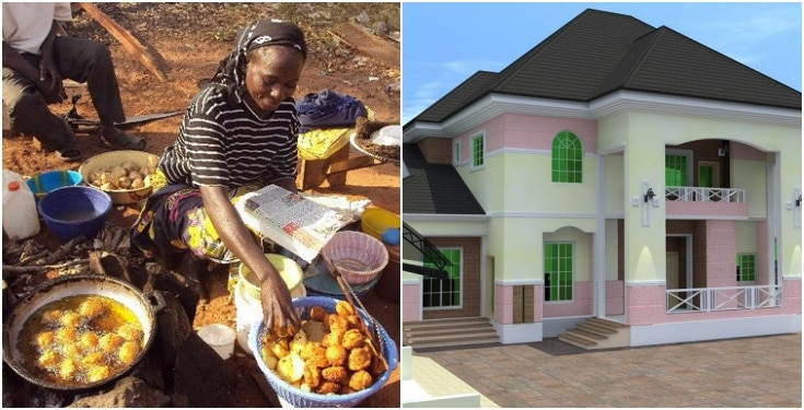 How A Widow Who Sells 'Akara' For A Living Became A Landlord In Lagos - Lady Reveals 1
