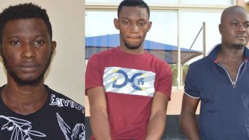 EFCC Arrests Nigerian Footballer, 2 Others Over Reckless And Flamboyant Lifestyle [Photos] 1