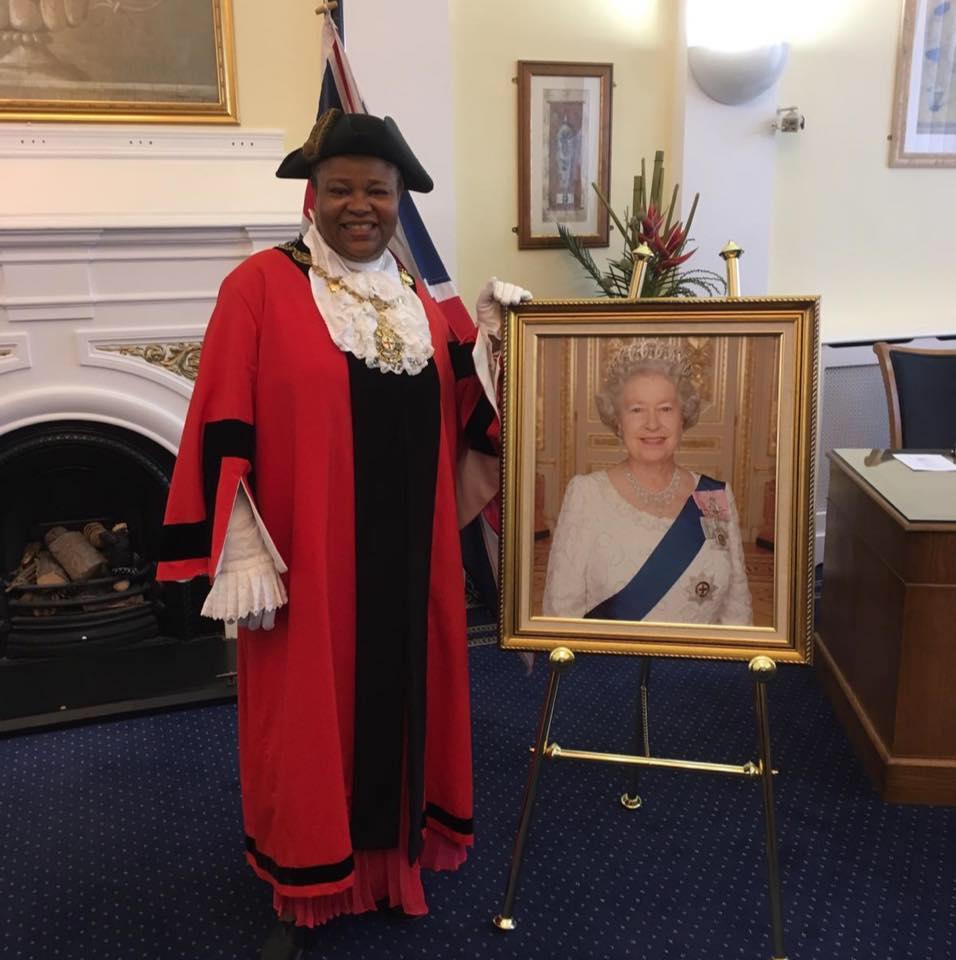 Another Nigerian Woman, Victoria Obaze Sworn In Mayor Of London Borough In UK [Photos] 1