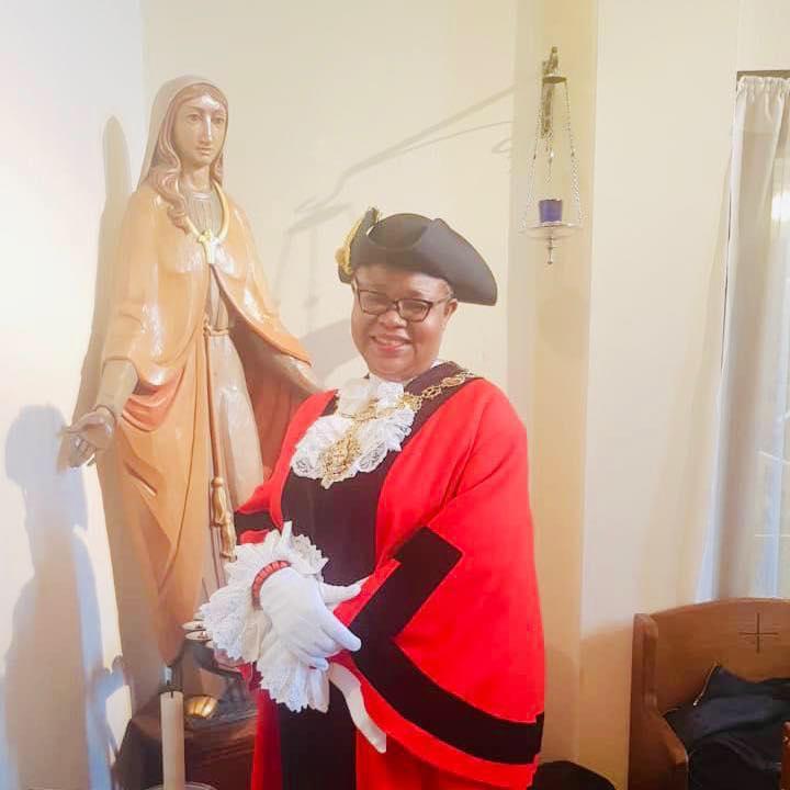 Another Nigerian Woman, Victoria Obaze Sworn In Mayor Of London Borough In UK [Photos] 2