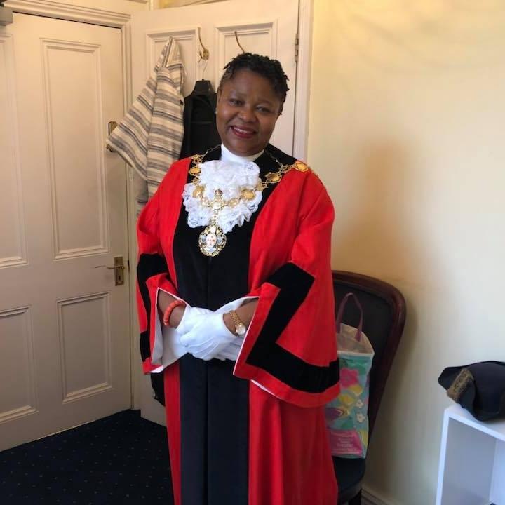 Another Nigerian Woman, Victoria Obaze Sworn In Mayor Of London Borough In UK [Photos] 3