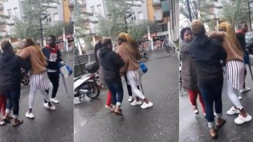 Nigerians Caught On Camera Fighting On The Streets Of Italy Over Stolen Shoes [Video] 4
