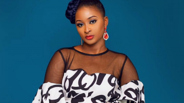 """""""Your Child Will Die Before The End Of This Month"""" - Etinosa Curses Fan Who Mocked Her On IG 1"""