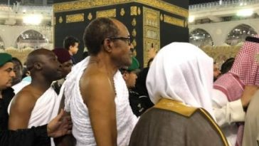 """The President Not In Saudi Arabia"" – Nnamdi Kanu Alleges After Buhari Was Spotted Running In Mecca [Video] 7"