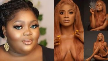 """""""You Sucks And You're Ugly"""" - Eniola Badmus Blasts Uche Ogbodo Over Her Unclad Photos 6"""