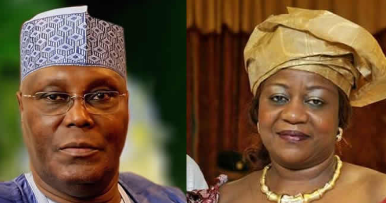 Atiku Vows To Drag Lauretta Onochie To Court After She Failed To Apologize And Pay Him N500m 1