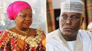 Lauretta Onochie Says No Apology For 'Depressed' Atiku Whose Aides Are Cooking Up Disgrace For Him 5