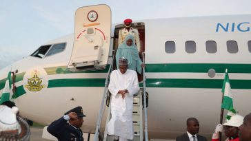 President Buhari And His Wife, Aisha Arrives Abuja From Mecca In Saudi Arabia [Photos/Video] 3