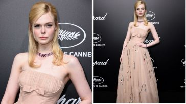 Hollywood Actress, Elle Fanning Faints At Event Because Her Dress Was 'Too Tight' 1