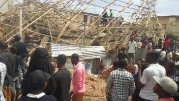Six Trapped To Death, Two Rescued As 4-Storey Building Collapses In Onitsha [Photos] 2
