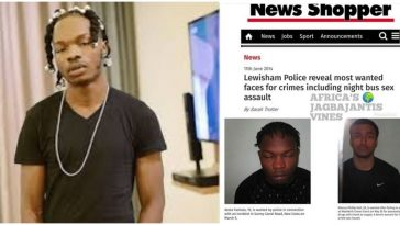Nigerians Dig Up Naira Marley's Mugshot After He Claims To Have Been Arrested 124 Times In UK 5