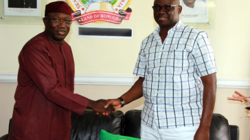 Fayose Congratulates Governor Fayemi On His Election As Chairman Of Governor's Forum 5