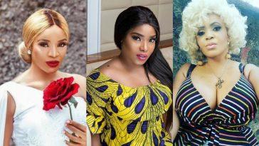 """Halima Abubakar Is A Jealous Snake"" - Cossy Orjiakor Warns Uche Ogbodo 5"