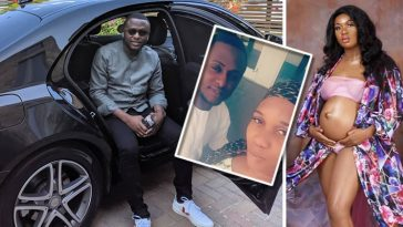 Ubi Franklin Impregnates Sandra Iheuwa, Set To Welcome 4th Child From 4th Babymama 7
