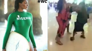 Ex-Miss Nigeria, Chinyere Christy Storms China To Fight Her Boyfriend's Other Girlfriend [Video] 2