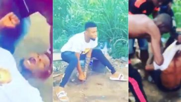 "Young Man Runs Mad After Smoking ""Synthetic Weed"" in Lagos [Photos/Video] 2"