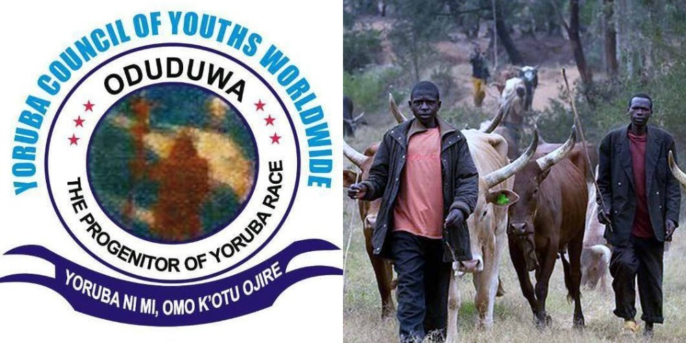 Yoruba Youths Issues 7 Days Final Quit Notice To All Fulani Herdsmen In South West 1
