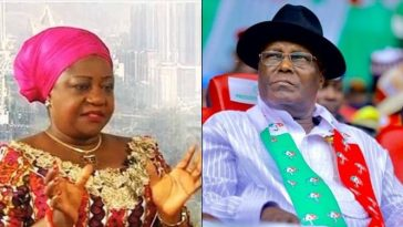 Atiku Is A Coward, He Wouldn't Dare Threaten Nor Bully Lai Mohammed – Lauretta Onochie 6