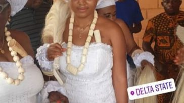 Regina Daniel's Mother Injures herself Few hours to daughters traditional wedding 10