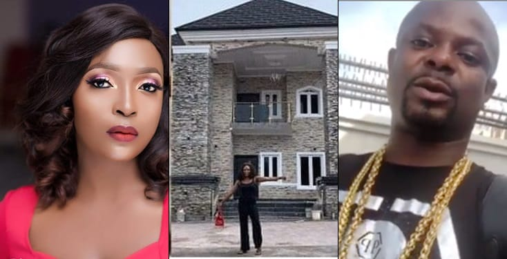 Blogger, Okoro Blessing Finally Admits To Lying About Building A New Mansion In Lagos [Video] 1