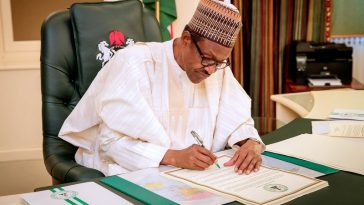 Breaking News: President Buhari Signs N8.92 Trillion Budget Into Law For 2019 5