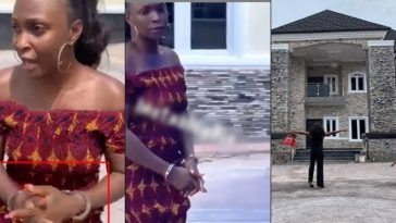 Blogger, Okoro Blessing Arrested By Owner Of House She Claimed To Have Built In Lagos [Video] 5