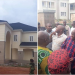 Rochas Okorocha Present Brand New Houses, Suv Cars To Former Governors Of Imo State [Photos] 9