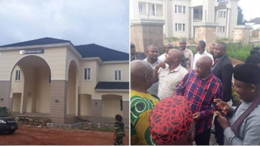 Rochas Okorocha Present Brand New Houses, Suv Cars To Former Governors Of Imo State [Photos] 1