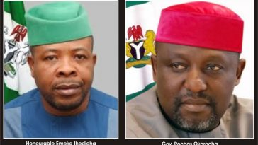 I am leaving the total sum of 42.5 Billion naira for the incoming government - Rochas Okorocha 7