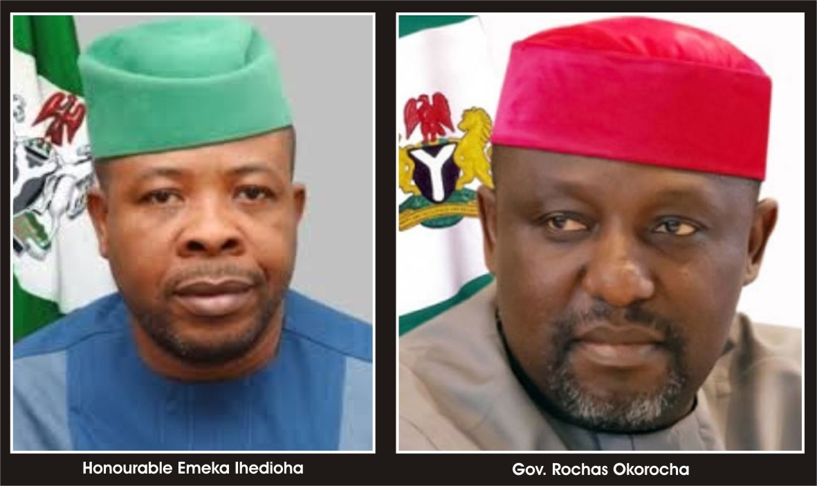 I am leaving the total sum of 42.5 Billion naira for the incoming government - Rochas Okorocha 1