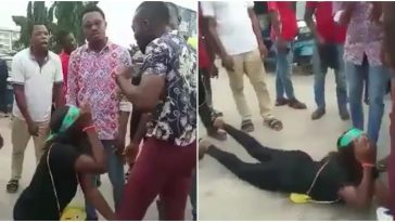 Lady Embarrassed Publicly After Boyfriend Rejected Her Marriage Proposal At A Junction In Warri [Video] 2
